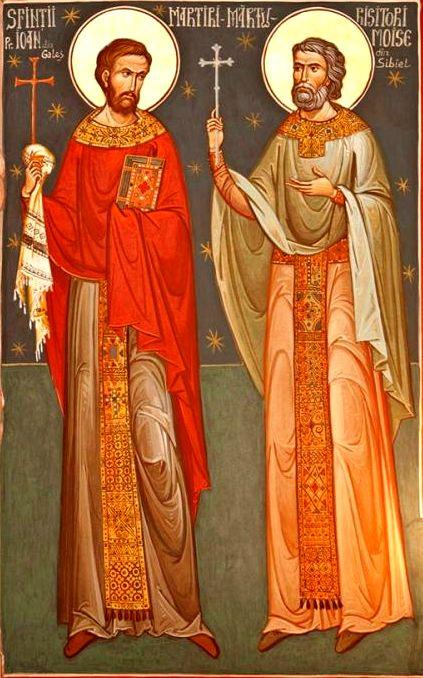 Sf Ioan din Galeş şi Moise Măcinic din Sibiel