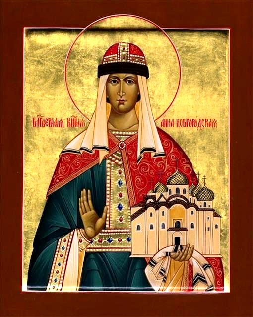 Sfânta Cuvioasă Ana din Novgorod († 1050)