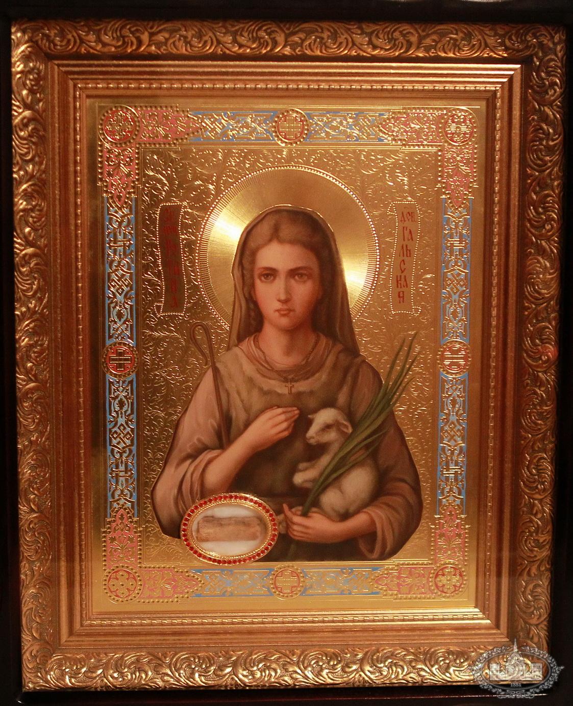 Sf Reghina, icoana cu moaste