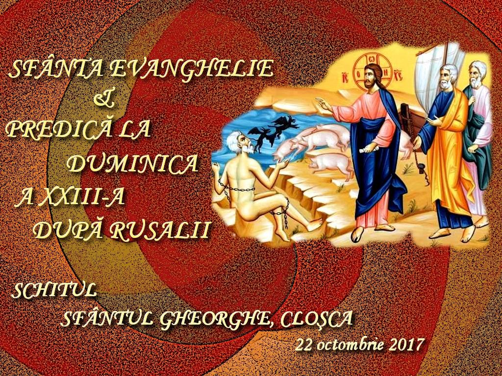 22 oct 2017, Ev si predica la D 23 dRusalii1