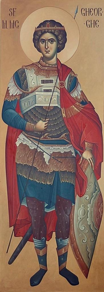 Sf-M-Mc-Gheorghe, in picioare