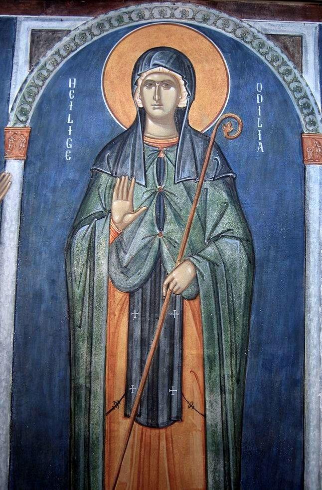Sfânta Otilia, ocrotitoarea celor ce nu văd (13 decembrie)