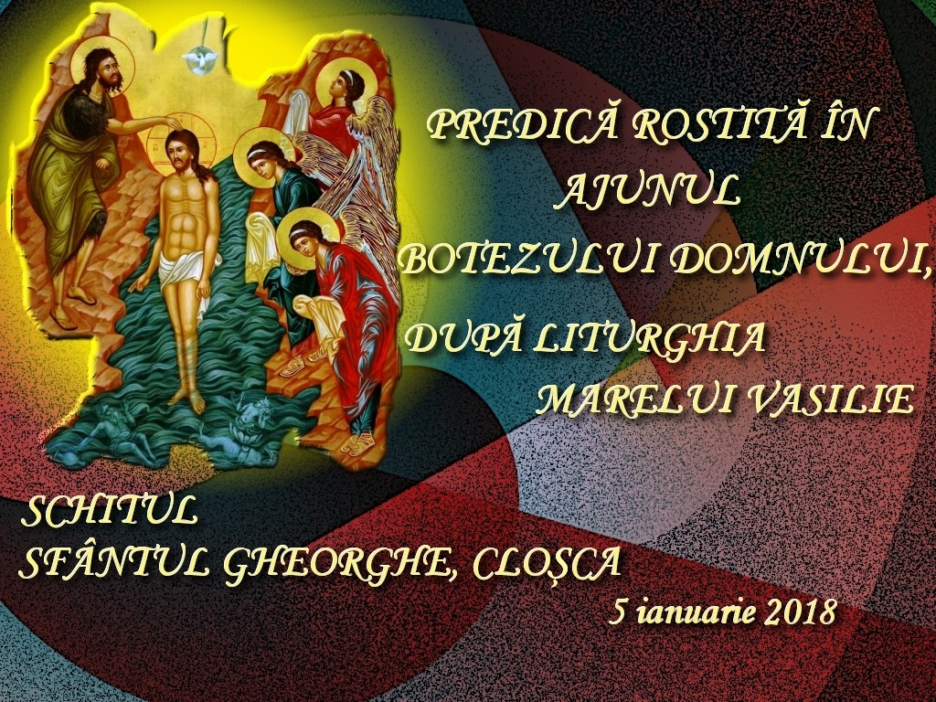 5 ian 2018, Cuvant dupa Liturghia Marelui Vasilie