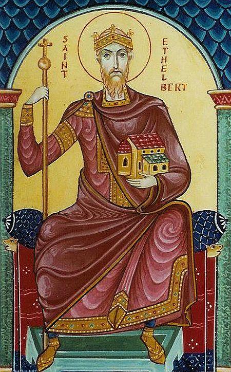 albert, sfantul-ethelbert-regele-kent, 24 febr