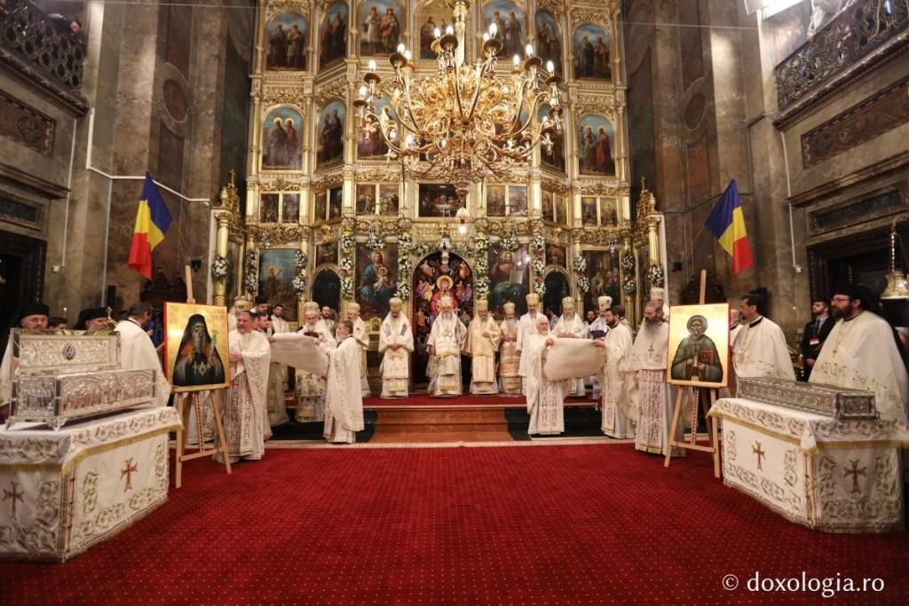 proclamarea canonizarii Sf Iosif cel Milostiv si Gheorghe Pelerinul